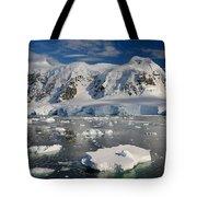 Paradise Bay, Antarctica Tote Bag