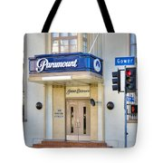 Paramount Movie Studio Hollywood Ca Tote Bag