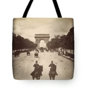 Paris Champs-�lys�es, C1900 Tote Bag