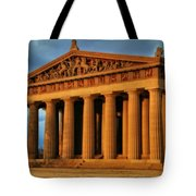 Parthenon Tote Bag by Dan Sproul