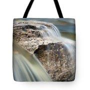 Passing Through The Rock Tote Bag