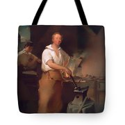 Pat Lyon At The Forge Tote Bag