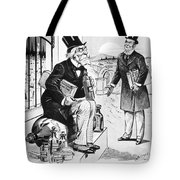 Patent Medicine Cartoon Tote Bag