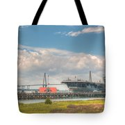 Patriots Point  Tote Bag