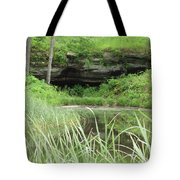 Peaceful Cavern  Tote Bag
