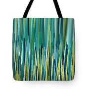 Peacock Spikes Tote Bag