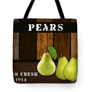 Pear Farm Tote Bag