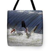 Pelican Drama Tote Bag