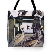 Pelicans Tote Bag