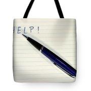 Pen Help Tote Bag
