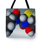 Penicillin V Molecular Model Tote Bag