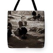 Pensive - In Central Park Tote Bag