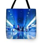 People Rush In Subway Tote Bag