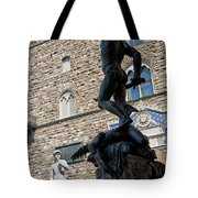 Perseus By Cellini Tote Bag