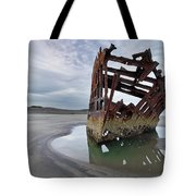 Peter Iredale At Dawn Tote Bag
