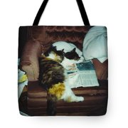 Petey And Emmie Tote Bag