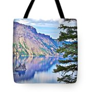 Phantom Ship Overlook In Crater Lake National Park-oregon Tote Bag