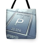 Phosphorus Chemical Element Tote Bag