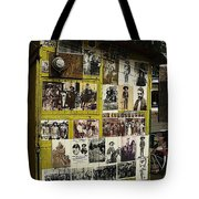 Photos Mexican Revolution Street Photographer's Shed Nogales Sonora Mexico 2003 Tote Bag