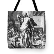 Physician As God Tote Bag