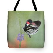 Piano Key Butterfly1 Tote Bag