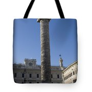 Piazza Colonnai Rome Tote Bag