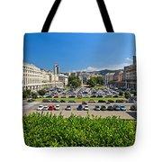 Piazza Della Vittoria - Genova Tote Bag
