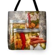 Pickled Vegetables Tote Bag