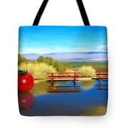 Picnic Leftover Tote Bag