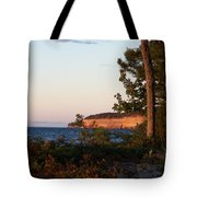 Pictured Rocks At Sunset Tote Bag