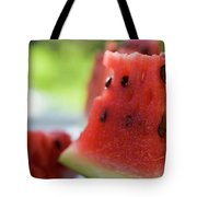 Pieces Of Watermelon Tote Bag