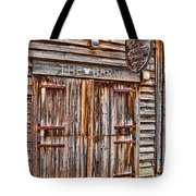 Pig And Poultry Barn Tote Bag