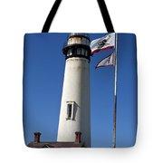 Pigeon Point Lighthouse Pescadero California Tote Bag