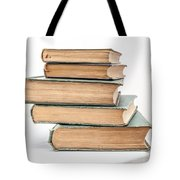 Pile Of Very Old Books Tote Bag