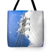 Pillar Of Power Tote Bag