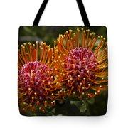 Pincushion Flowers Tote Bag