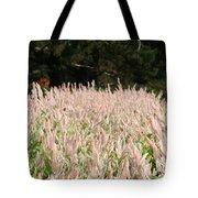 Pink Flames Tote Bag
