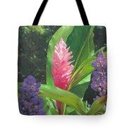 Pink Ginger Tote Bag
