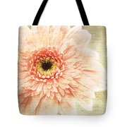1 Pink Painterly Gerber Daisy Tote Bag