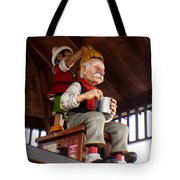 Pinocchio And Geppetto  Tote Bag