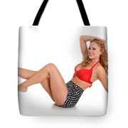 Pinup Girl Tote Bag