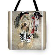 Pirate Dogs Tote Bag