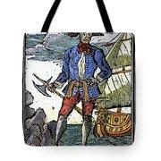 Pirate Edward England Tote Bag