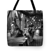 Pirates Of The Caribbean V8 Tote Bag