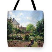 Pissarro's The Artist's Garden At Eragny Tote Bag by Cora Wandel