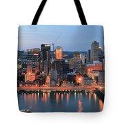 Pittsburgh At Dusk Tote Bag