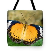 Plain Tiger Butterfly Tote Bag