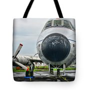 Plane Noses Up Tote Bag