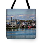 Plymouth Harbor Tote Bag