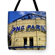 Pnc Park Baseball Stadium Pittsburgh Pennsylvania Tote Bag